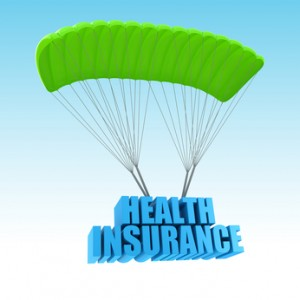 Health Insurance 3d concept illustration